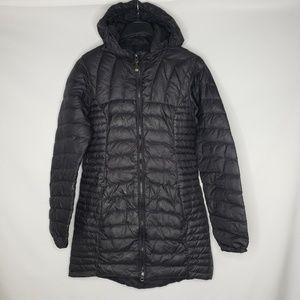 Eddie Bauer Black Goose Down Puffer Jacket